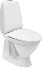 Ifö sign 6860 toalett Vit med Ifö Sign hårdsits Svart