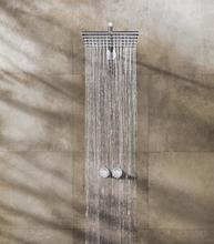 Vola 5251 duschblandare med termostat och tak/huvuddusch - Krom