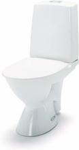 IDO Glow 63 rimfree golvstående toalett m/öppet s-lås - Till limning, enkelspolning, mjuksits