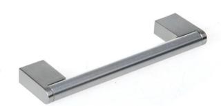 Noro Newport handtag c-c 128 mm - krom