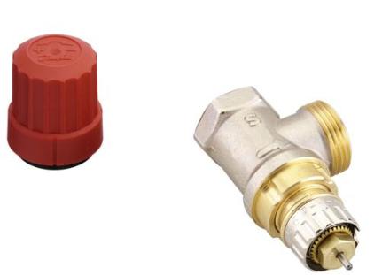 Danfoss RA-N-ventil R10 med förinställning