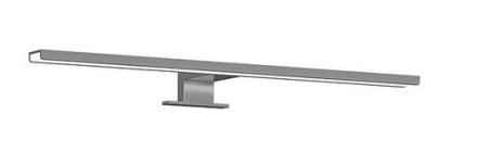 Gustavsberg Graphic lampa till Graphic spegelskåp, bredd 50 cm
