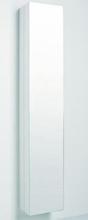IDO Glow högt spegelskåp - Vit, höger