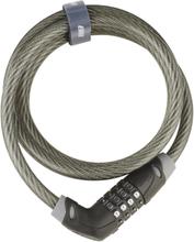 BBB CodeSafe BBL-35 Bike Lock Chromium black 2020 Kombinationslås