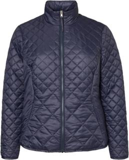JUNAROSE Short Padded Jacket Kvinna Blå
