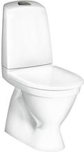 Gustavsberg Nautic 1500 golvstående toalett m/dolt s-lås, standard sits & hygienic flush - Till limning