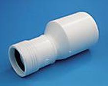 Reduktion/förminskning i vitt 50/40mm