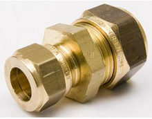VSH super D1401 rak koppling 18x12 mm, mässing