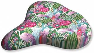 Liix - Sadelskydd - Saddle Cover Catalina Estrada Flowers & Flamingos