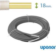 Uponor Universal Pex Rör-i-Rör 18 mm till vatten och värme (50 m)