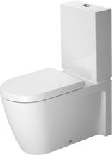 Duravit Starck 2 golvstående toalett med P-lås