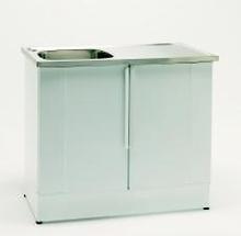 Nimo Tvättbänk NB 1000 L 100x60 cm, Lådplacering vänster, Vit