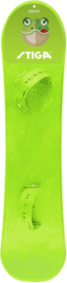 Snowboard med bindningar, Lime, Stiga