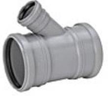 Grenrör 75x50mm m/3 muffar 45°