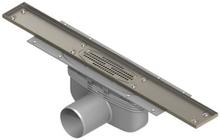 Purus Line för klinkergolv, 75 mm sidoutlopp - 1000 mm