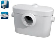 Saniflo SaniAccess 2 Malpump till avloppsvatten från golvstående toalett och tvättställ