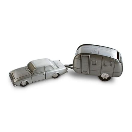 Dacapo Silver - Sparbössa Bil Med Husvagn