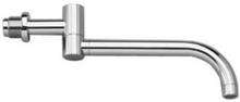 Vola 300 mm dubbel svängbar pip i borstad krom