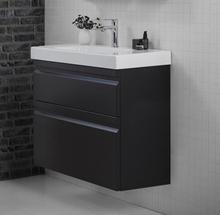 Dansani Special Collection möbelpaket m/lådor & Mini Menuet tvättställ 81,3x36 cm - Cedar grey, extra hög
