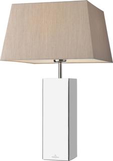Villeroy & Boch ~ Prag bordslampa fyrkantig - Silver