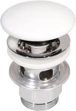 Gustavsberg Estetic pop-up bottenventil med porslinspropp - Matt vit