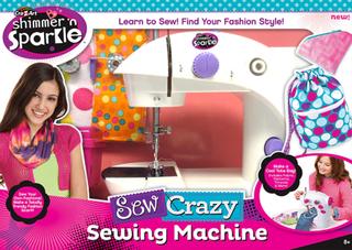 Sew Crazy Symaskin, Shimmer N Sparkle