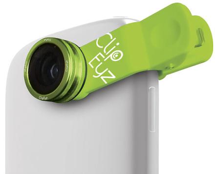 ClipEyz Fisheye Lens - Grøn