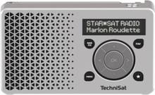 Bærbar DAB-radio DigitRadio 1 - Sølv