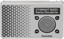 Bærbar DAB-radio DigitRadio 1 - Hvit