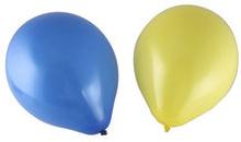 Ballonger Gul & Blå 10-pack