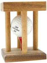 Få løs golfball puzzle IQ-nøtt