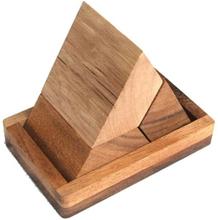 Pyramide puzzle - IQ-nøtt