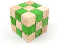Grønn mamba slange kube IQ-nøtt