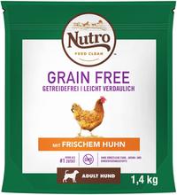 Nutro Hund Grain Free Adult - kylling - 14,5 kg