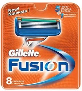 Gillette Fusion Barberblade - 4 Stk.