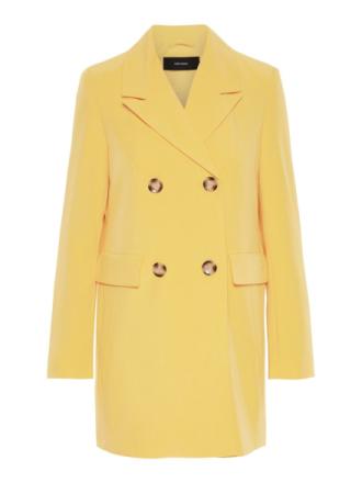 VERO MODA Loose Fit Blazer Women Yellow