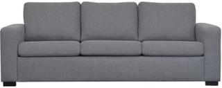 Zebra Collection ~ ALNARP 3-sits soffa - Ljusgrå