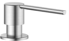 Nivito diskmedelspump, rund - Borstat rostfritt stål