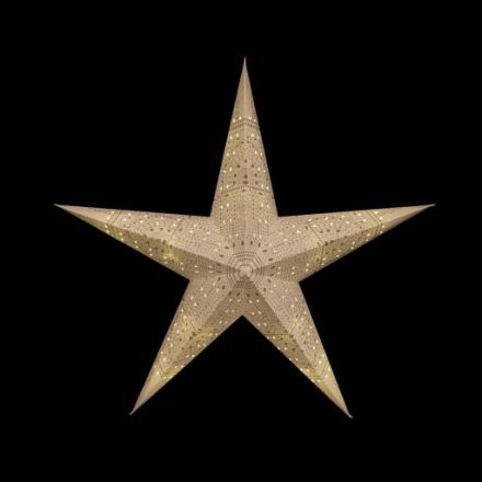 Tivoli Mulberry LED Lysstjerne, 50 cm, Batteri, Pantomime motiv