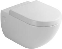 Villeroy & Boch Subway vägghängd toalett i vit m Ceramic Plus utan sits