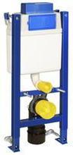 Gustavsberg Triomont XT WC-fixtur, för mekaniskt spolknapp som monteras på toppen - 83 cm
