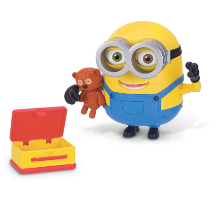 Minions - Action deluxe figur Bob med bamse - Boernsunivers