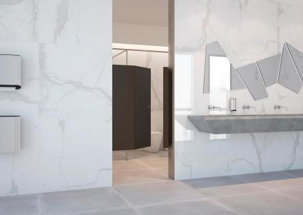 granitkeramik metropolitan-b vit marmor