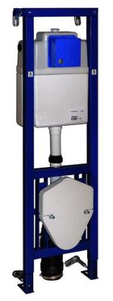 Gustavsberg Triomont XS Vario WC-Fixtur, till mekanisk spolknapp, sitthöjden kan justeras - 130 cm