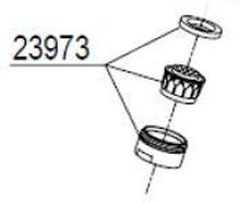 Damixa Strålsamlare M24x1 Rubclean