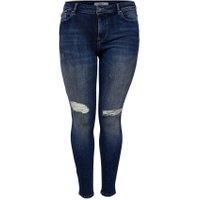 ONLY Curvy Frozen Reg Sk Jeans Kvinder Blå - BESTSELLER