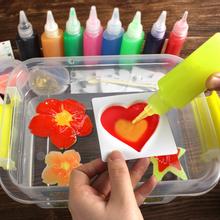 Kids DIY Magic Water Toy Children Handmade DIY Craft Toys Montessori Education Water Fairy Ocean Magical Toys Xmas Gift