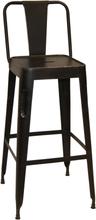 2 st Toxil barstol - Vintage svart