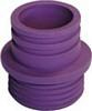 Faluplast gumminippel Violett 43-45/32-40 mm.