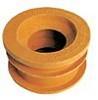 Faluplast gumminippel Orange 70-75/40-50 mm.